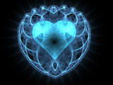 Crystal Heart by razorjack51, Abstract->Fractal gallery