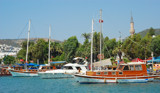 Nice day at the marina by Bursa, Photography->Boats gallery