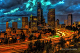 Seattle at Night by DigiCamMan, photography->city gallery