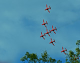 The Red Arrows.. by biffobear, photography->aircraft gallery