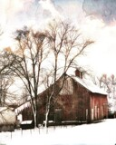 Barn in Snow by Starglow, photography->manipulation gallery