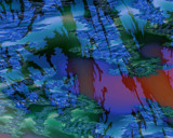 Okefenokee Swamp Reflections by Lee Skinner, Abstract->Fractal gallery