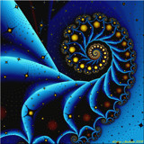 Celestial Spiral by razorjack51, Abstract->Fractal gallery