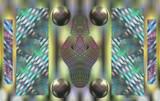 The Dot Matrix Mechanism by Flmngseabass, abstract gallery