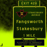 AU Road Signs - Exit 428 by Jhihmoac, illustrations->digital gallery