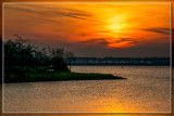 Sunset Over Lake Of Veere 1 by corngrowth, photography->sunset/rise gallery