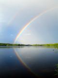 Rainbow above Ihalanjärvi by sirpa, Photography->Skies gallery