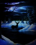 Winters' Stillness by mesmerized, illustrations->traditional gallery