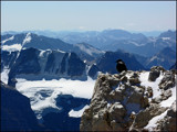 Crow at High Altitude by Avenged, Photography->Mountains gallery