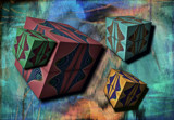 Box Dreams by Flmngseabass, abstract gallery