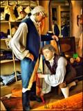 A'hem! .. Inside Leg Measurement Sir!.. by Dunstickin, photography->sculpture gallery