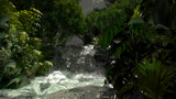 Jungle Falls by GunnerMan, computer->landscape gallery