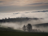 Mist over the village by casson, Photography->Landscape gallery