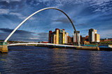 Millenium Bridge and the Baltic by biffobear, photography->bridges gallery