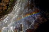 Hareshaw Rainbow by biffobear, photography->waterfalls gallery