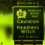 AU Road Signs - Exit 394 by Jhihmoac, illustrations->digital gallery