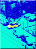Yellow car by Bursa, Photography->City gallery