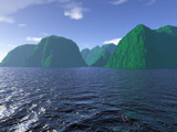 Green Mountain Sea by timw4mail, computer->landscape gallery