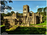 Fountains Abbey by Dunstickin, photography->castles/ruins gallery