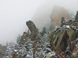 April Snow in the Canyon by Yenom, praetori arbitrio gallery