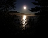 Moon - extended exposure by Quiet, photography->shorelines gallery