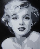 MARILYN 3 by nuke88, illustrations->traditional gallery