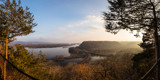 Effigy Mounds - Eagle Rock Lookout - Panoramic by Mitsubishiman, photography->landscape gallery