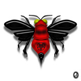 Transylvanian Stinger Bee by Jhihmoac, illustrations->digital gallery