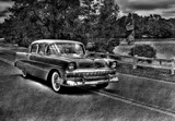 Black and White Chevy by cynlee, photography->action or motion gallery