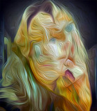 Blue Eyed Beauty by casechaser, abstract gallery