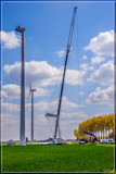 Assembling Of A Wind Turbine by corngrowth, photography->action or motion gallery