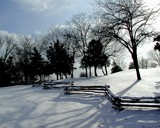 Winter Fence by jojomercury, Photography->Landscape gallery