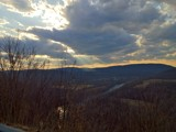 Potomac Highlands CloudSun by athammer, photography->landscape gallery