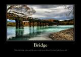 Bridge Poster by LynEve, photography->bridges gallery