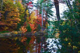 Fall Colours In Northern Ontario #3 by icedancer, photography->shorelines gallery