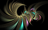 Shake Ya Tail Feather by tealeaves, Abstract->Fractal gallery