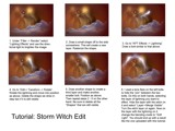 Storm Witch Tutorial by Samatar, Tutorials gallery