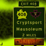 AU Road Signs - Exit 408 by Jhihmoac, illustrations->digital gallery