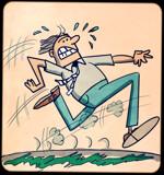 Run Man Run by bfrank, illustrations gallery