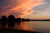 Sunset on Winona Lake_Inspiriing by tigger3, photography->sunset/rise gallery