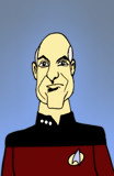 Jean-Luc Picard by bfrank, illustrations gallery