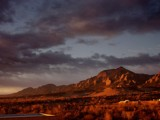 Winter Sunrise in Boulder by Yenom, Photography->Sunset/Rise gallery