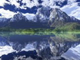 Mirror Lake by Samatar, computer->landscape gallery