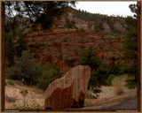 Striped Rock @ Red Canyon by PhotoKandi, Photography->Landscape gallery