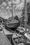 Shipyard Siesta Time by corngrowth, contests->b/w challenge gallery