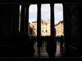 the Pantheon - looking in, looking out......... by fogz, Photography->Architecture gallery