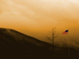 Misty Flag by mckinleysh, photography->manipulation gallery
