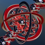 Stars N Stripes by ianmacappin, Abstract->Fractal gallery