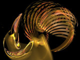 Golden Rooster by jswgpb, Abstract->Fractal gallery