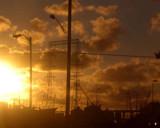 Navy Base Sundown. by Billyygoesboom, Photography->Sunset/Rise gallery